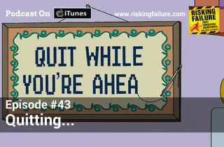 "Episode #43 - Quitting: Background Image By Flickr  User ""Aparejador"""